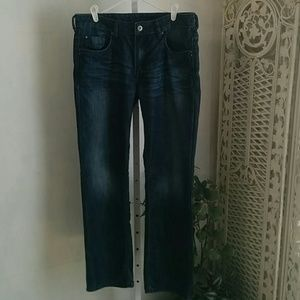 Buffalo David Bitton Straight and Stretch Jeans